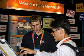 Making Security Measurable booth at RSA 2009
